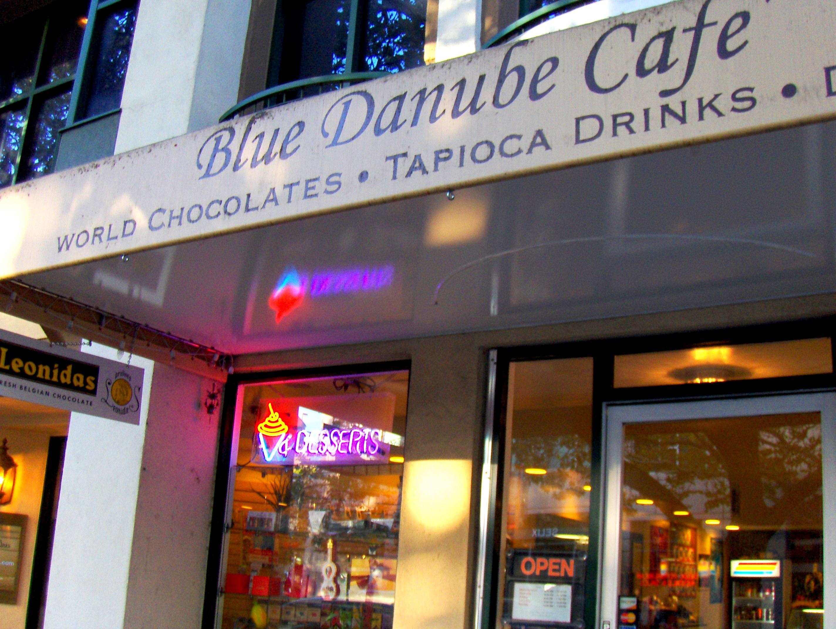 Blue Danube Coffee House Alameda Menu