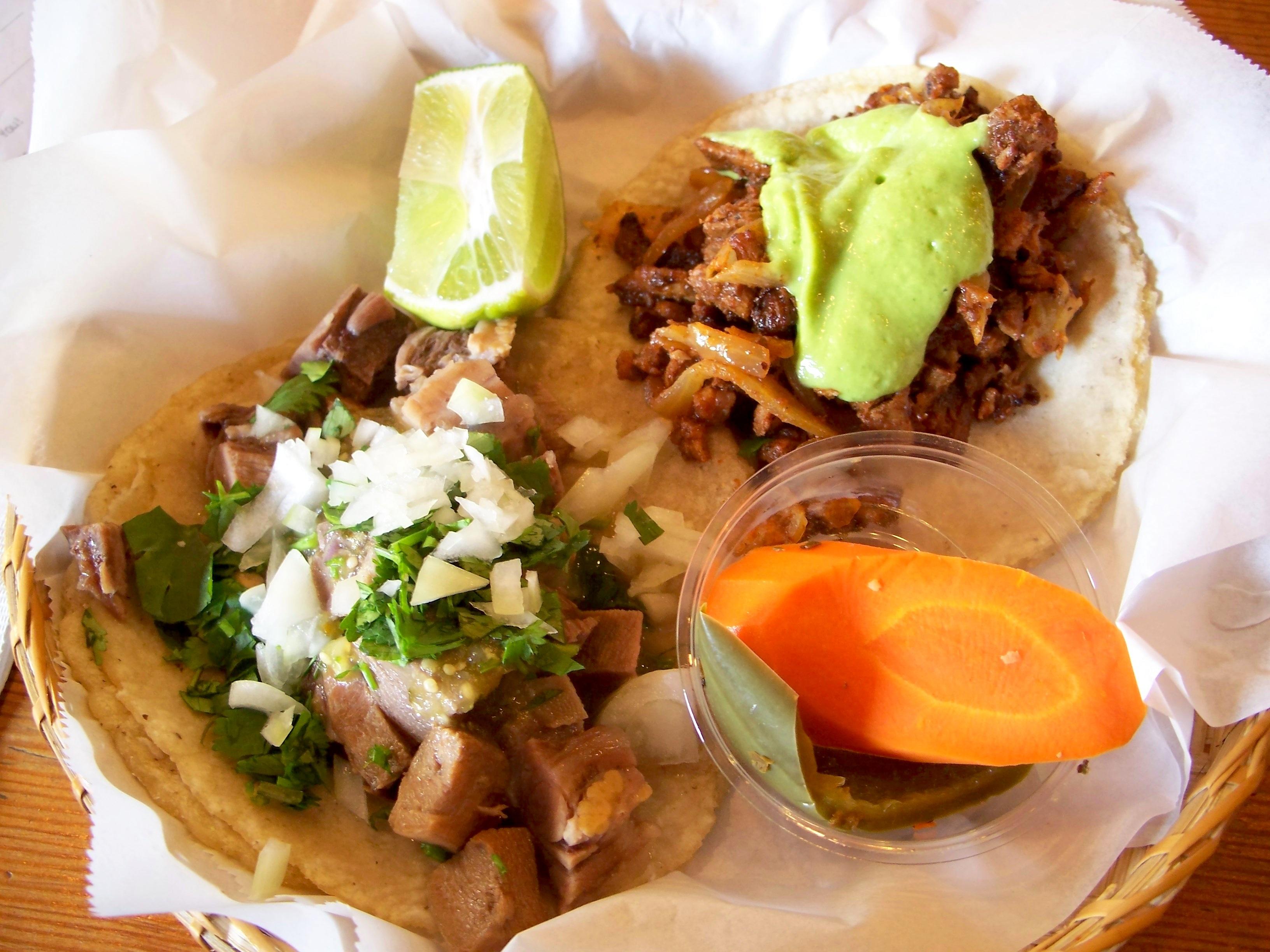 de lengua take on beef lengua tacos tacos de lengua al pastor as a ...