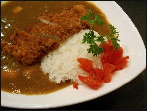 Curry rice with tonkatsu - $10.95 - a bit more peppery than the curry rice at Musashi in Berkeley, but still mild enough to my taste, pretty good.