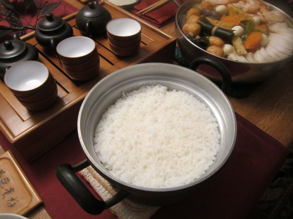 Rice by Kenji san, i.e. Mr. Togami.