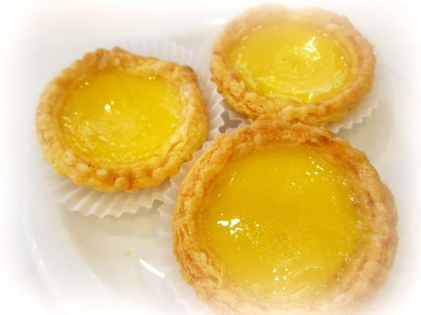 Egg tarts ($3.75) - very eggy