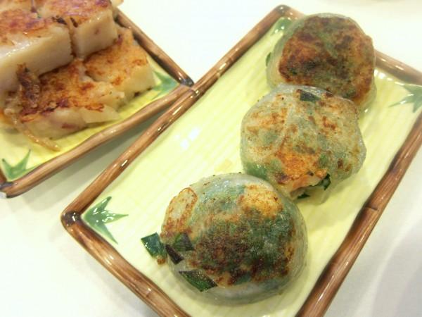 Pan-fried shrimp-and-chive dumpling ($3.95)