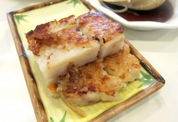 Pan-fried turnip cake ($2.95) - pretty good